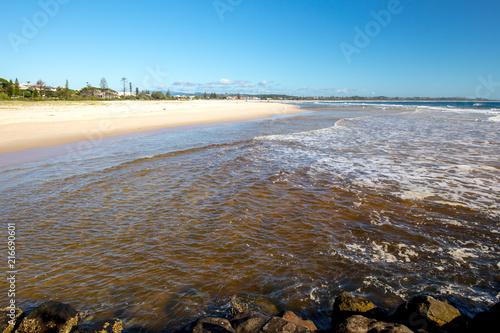 Poster Oceanië Kingscliff Beach Australia