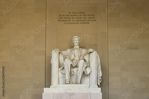 Fotografia  Statue of AbrahamLincoln