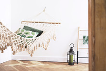 Hammock Hanging In Room