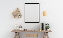 Blank Photo Frame For Mockup O...