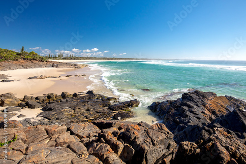 Foto op Plexiglas Oceanië Cabarita Beach Australia