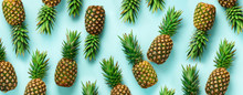 Bright Pineapple Pattern For M...