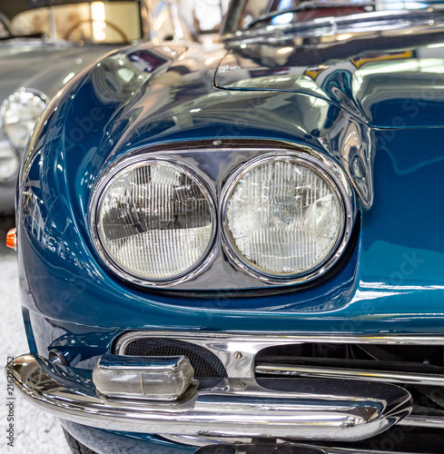 In de dag Vintage cars Vintage car Front Grill and Headlight