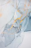 Atrament, farba, streszczenie. Zbliżenie obrazu. Kolorowe abstrakcyjne malarstwo tła. Farba olejna o wysokiej teksturze. Szczegóły wysokiej jakości. Atrament alkoholowy nowoczesne malarstwo abstrakcyjne, współczesna sztuka współczesna. - 216724227