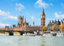Houses Of Parliament And Big Ben, London, United Kingdom