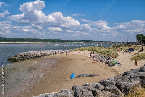 Fototapeta At the beach in Le Touquet-Paris-Plage