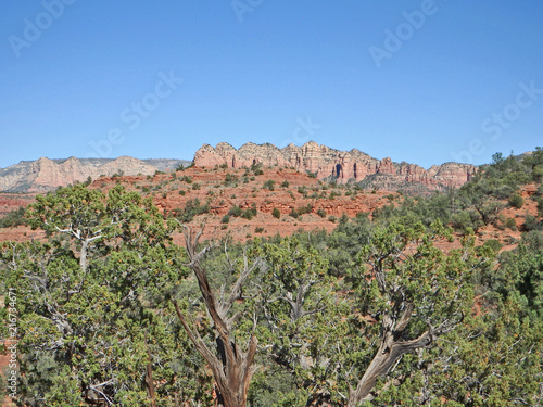 View of Red Rocks on Turkey Creek Trail in Sedona
