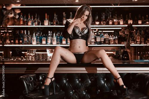 Fotografie, Obraz  Dance in a bar concept