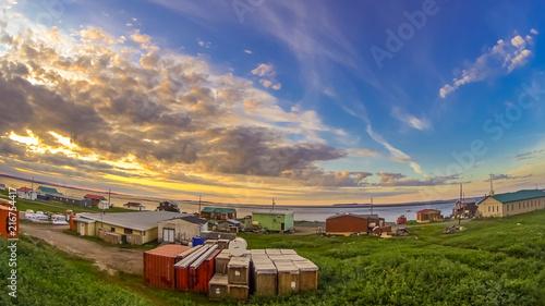 Photo Stands Kiev Golden sunset