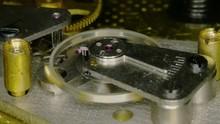 4K Macro Clock Gears Mechanism...