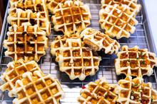 Belgian Waffle In Maker