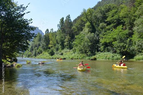 Fotografía Kayak, Canoë,  gorges du Tarn, France