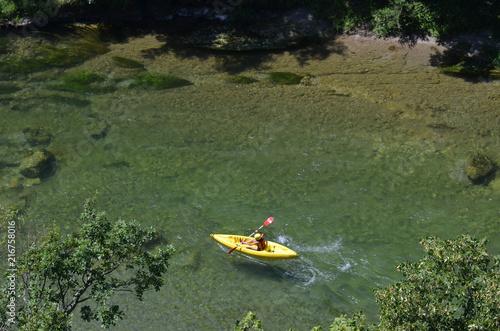 Fototapeta Kayak, Canoë,  gorges du Tarn, France