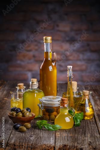 Fotobehang Aromatische Still life of olives