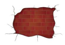 Exposed Brick Background Clip Art