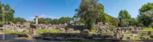 Photo Temple de Zeus, site archéologique d'Olympie