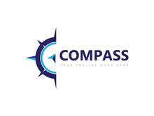 Compass Logo, Icon, Symbol Des...