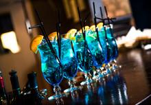 Blue Lagoon Cocktails