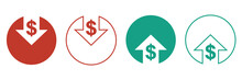 Cost Reduction Icons For Web D...