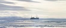 A Trawler In Disko Bay, East Greenland