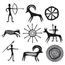 Vector Petroglyphs