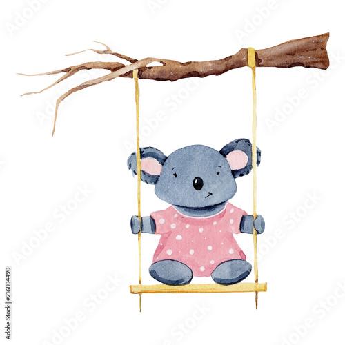 akwarela-baby-panda-dzien-ojca