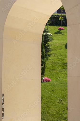 Deurstickers Artistiek mon. Sanatsal anıt