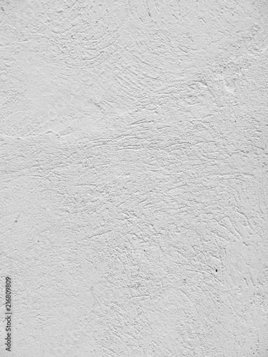 Foto op Aluminium Wand white cement plaster wall background