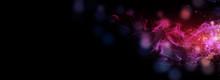 Dark Abstract Bokeh Background...