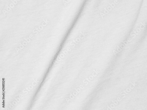 Tuinposter Stof white fabric cloth texture