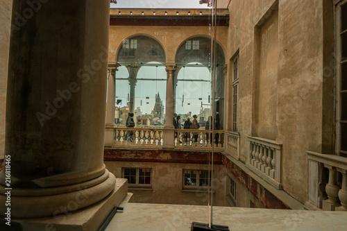 Poster Artistique Palazzo Brignole-Sale detto Palazzo Rosso, il Sistema dei Palazzi dei Rolli, Genova, Liguria, Italia