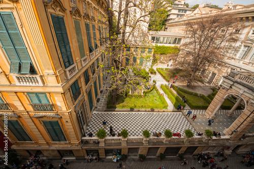 Valokuva  Palazzo Brignole noto come Palazzo Bianco, il Sistema dei Palazzi dei Rolli, Gen