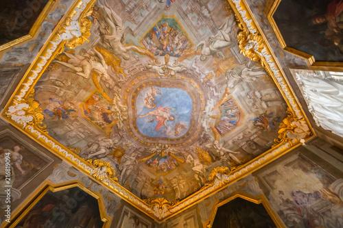 Tuinposter Artistiek mon. Palazzo Brignole-Sale detto Palazzo Rosso, il Sistema dei Palazzi dei Rolli, Genova, Liguria, Italia