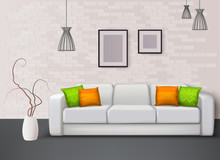 Interior Realistic Composition