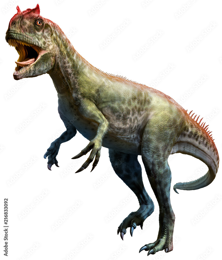 Allosaurus 3D illustration