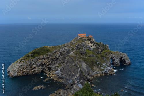 Photo  The whole San juan de Gaztelugatxe's island