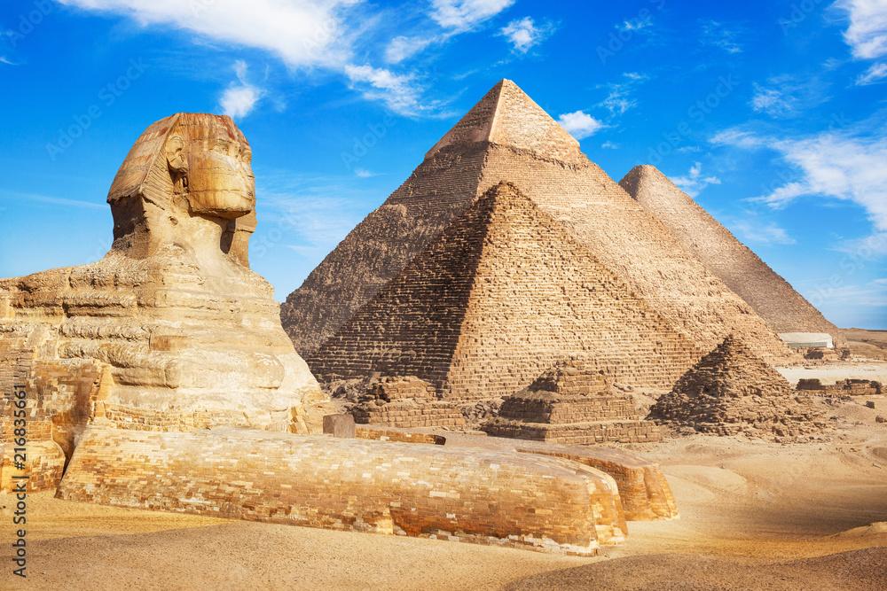 Fototapety, obrazy: Egypt Cairo - Giza