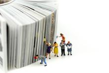 Miniature People: Businessman ...