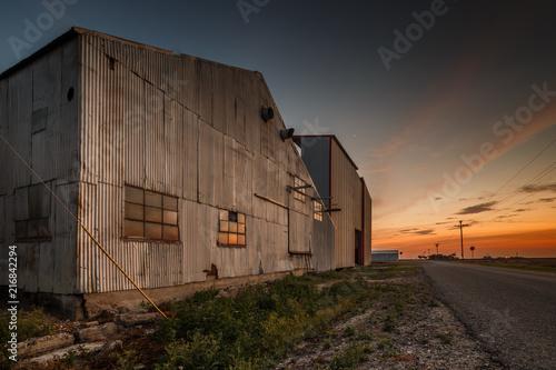 Foto op Plexiglas Arctica Cotton Gin Sunset