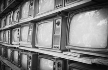 Retro Style Old Television Fro...
