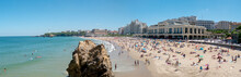 View Of Biarritz Beach By The ...