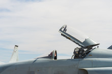 Fighter Aircraft Parked.