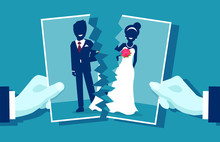 Crisis In Relationship And Divorce Concept