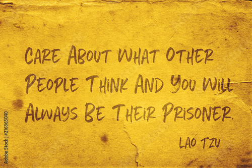 Photo  people think Lao Tzu