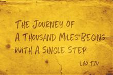 Single Step Lao Tzu