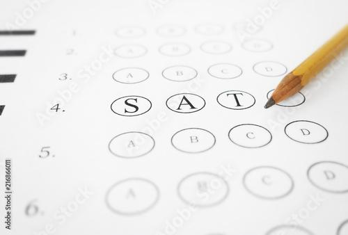 Fotografía SAT multiple choice