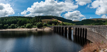 Elan Valley Reservoirs In A Dr...