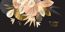 Decorative Geometric Gold And ...