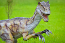 Big Model Of Velociraptor In N...