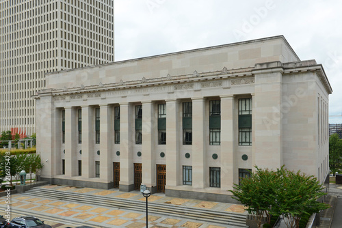Valokuva Tennessee Supreme Court Building next to the State Capitol was built in 1937 in Nashville, Tennessee, USA